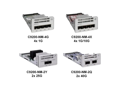 Cisco C9200 uplink modules