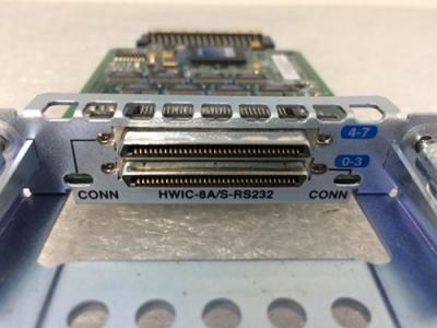 cisco-HWIC-8A/S-232-8-port-async-sync-rs232-wic-