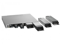 cisco-WS-C3850-24PW-S-catalyst-3850-24-ge-poe-5x-ap-lisans-modüler-switch-ip-base-back-view