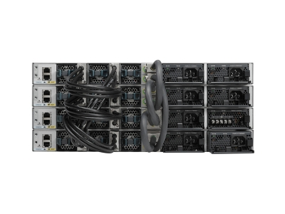cisco-WS-C3850-48F-E-catalyst-3850-48-port-ge-full-poe-switch-ip-services-stacked-back-view