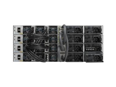 cisco-WS-C3850-48T-L-catalyst-3850-48-port-gigabit-ethernet-switch-lan-base-stacked-back-view