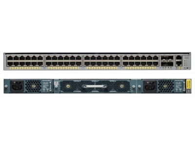cisco catalyst 4948E ip base switch-back view